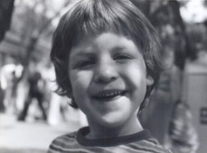 Young Danny Whitley at Universal Studios.